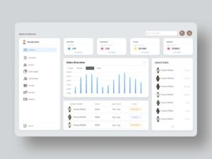 Free eCommerce Admin Dashboard UI Kit