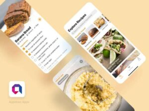 Free Cooking App UI Kit Concept