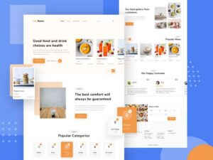 Free Food Delivery Landing Page