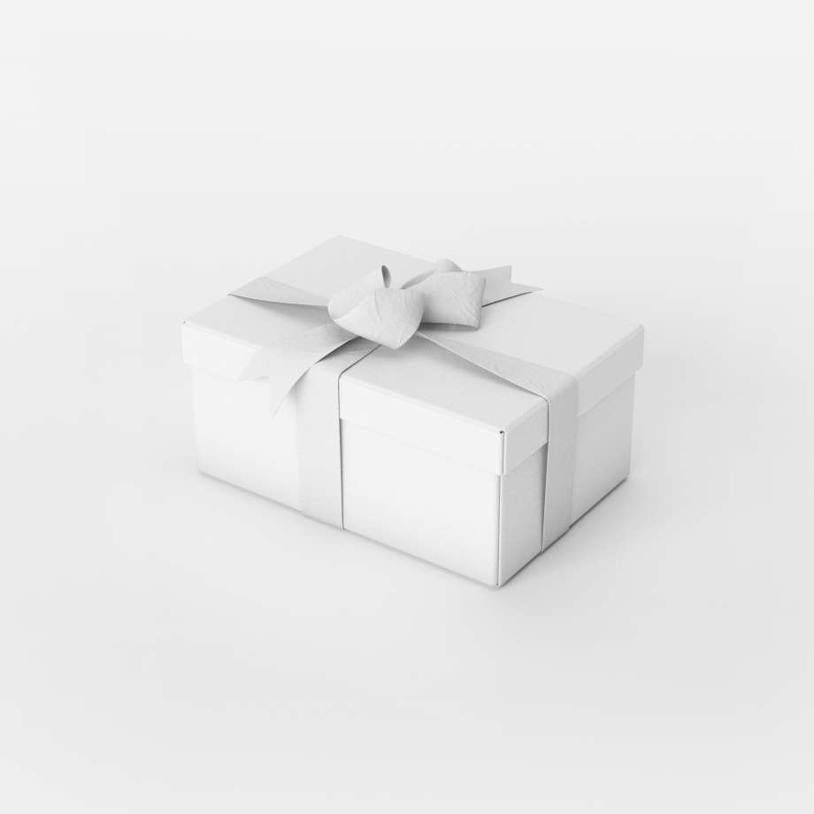 Free Gift Box Mockup Set