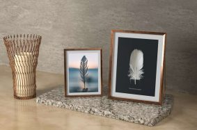 Free Picture Frames Mockup