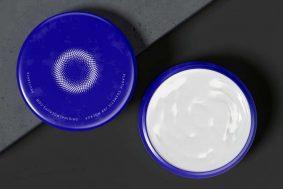 Free Plastic Cosmetic Jar Mockup