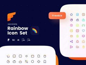 Free Rainbow Icon Pack