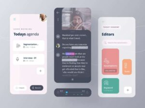 Free Research App Concept UI