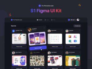 Free Web Service UI Kit