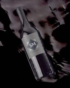 Free Wine Bottle Label Mockup