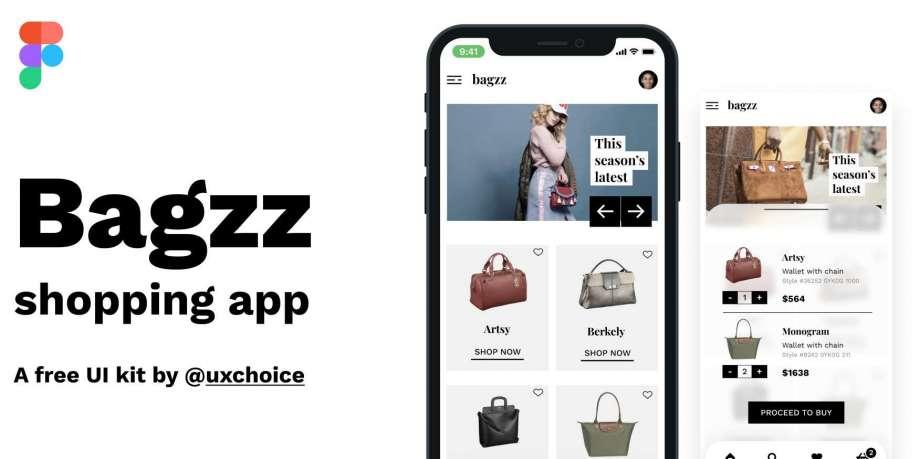 Free Bagzz - Shopping UI Kit