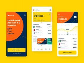 Free Bank App UI Kit
