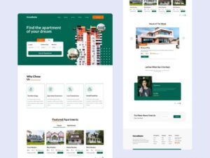 Free Home Finder Website Template