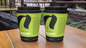 Free Matte Coffee Cup Mockup