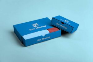 Free Minimalist Box Packaging Mockup
