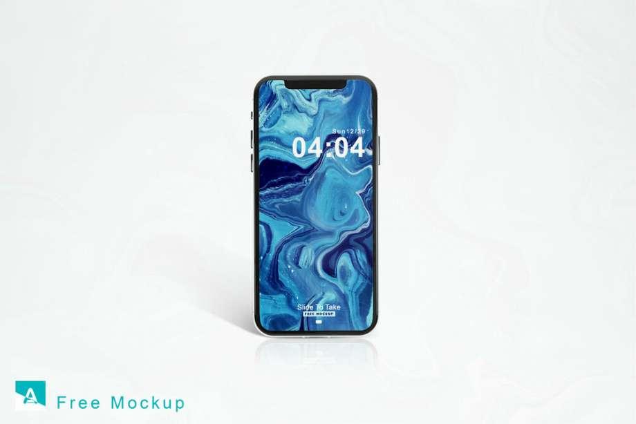 Free Modern iPhone X Mockup