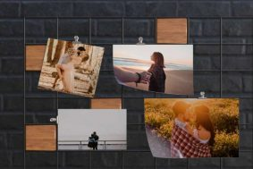 Free MoodBoard Picture Gallery Mockup