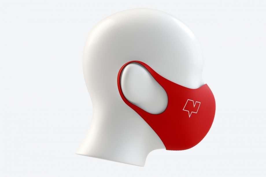 Free Neoprene Guard Face Mask Mockup