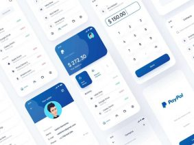 Free PayPal App Redesign Concept