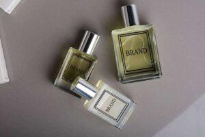 Free Perfume Bottle Mockup (PSD)
