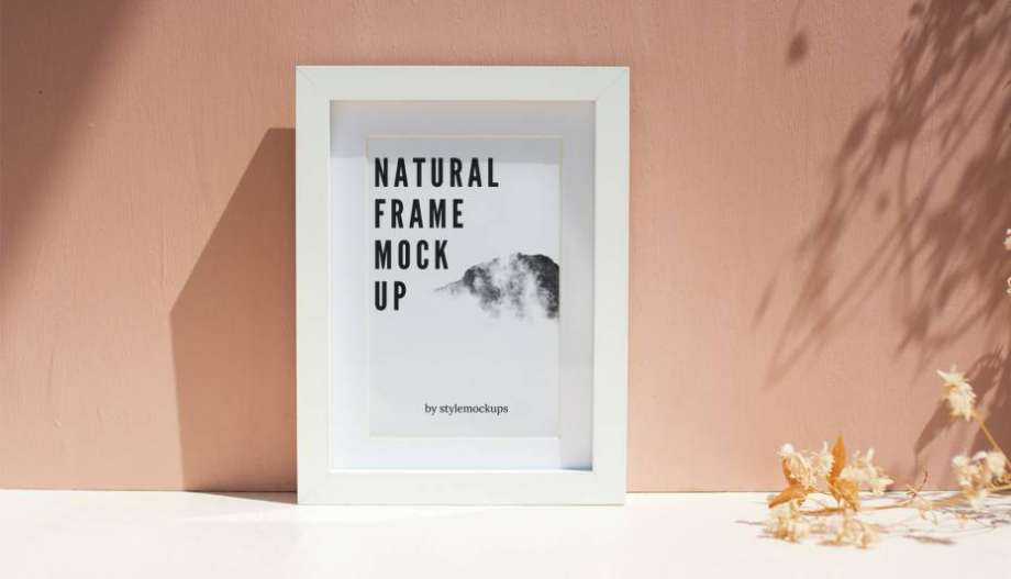 Free Photo-Frame Mockup