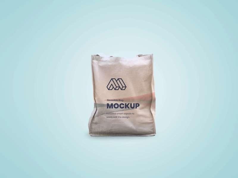 Free Reusable Bag Mockup