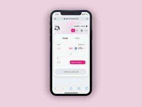 Free Uniswap Exchange App Concept UI