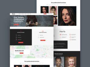 Free Photography Studio Website Template