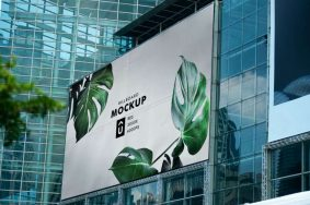 Free Billboard Mockup Template