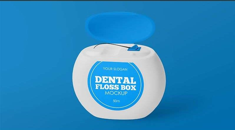 Free Dental Floss Box Mockups