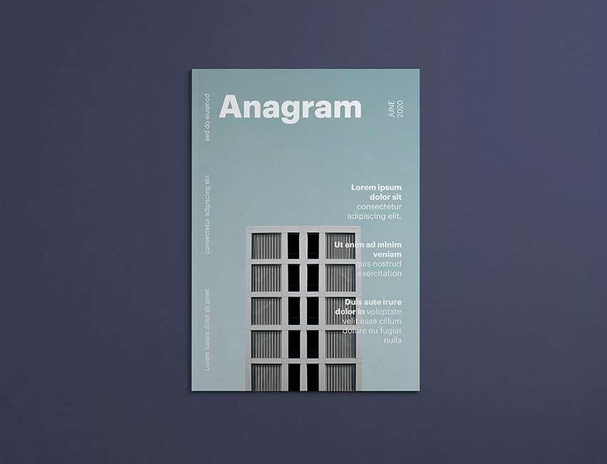 Free Magazine Cover Mockup