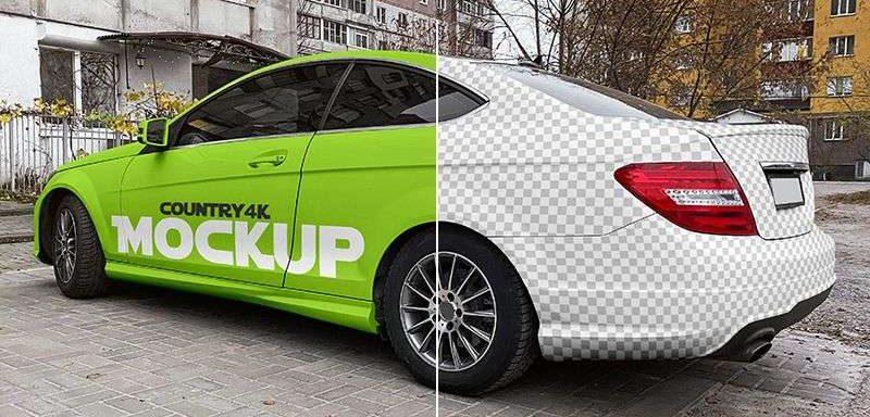 2 Free Luxury Car Mockups