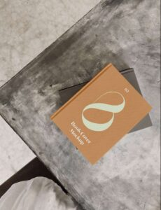 Free Realistic Book PSD Mockup