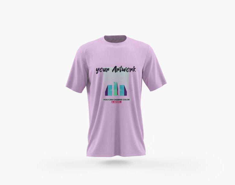Free Front View T-Shirt Mockup