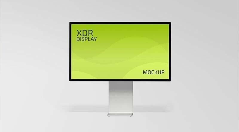 Free XDR Display Mockup