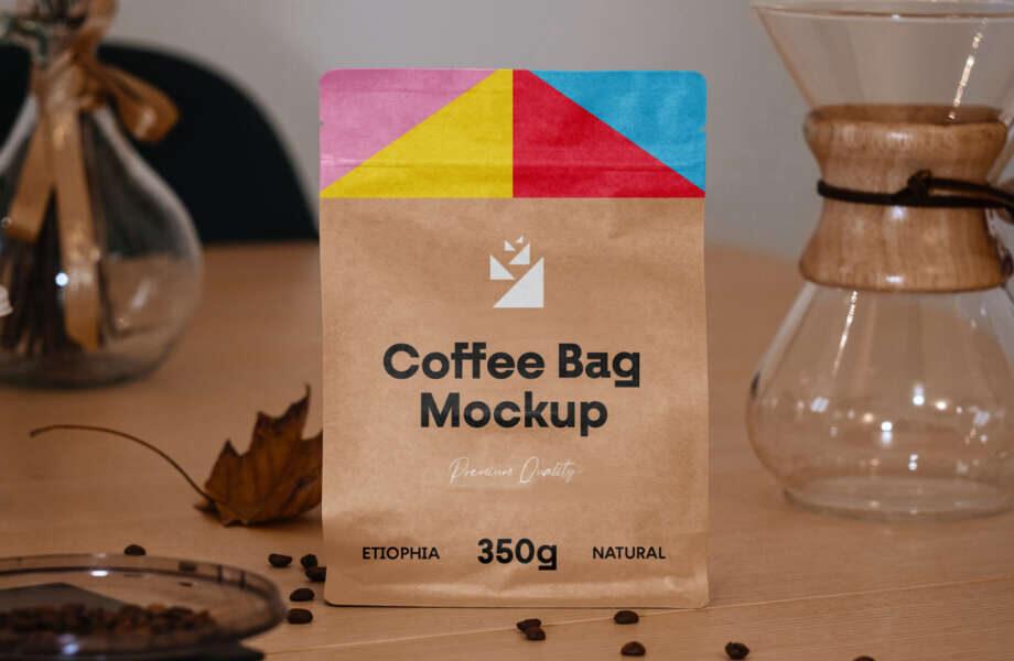 Free Small Bag Mockup