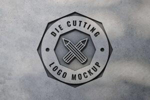 FREE MANUFACTURE LOGO MOCKUP