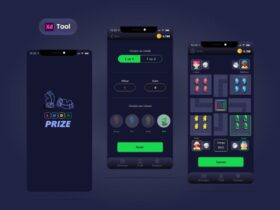 Free Ludo Game APP UI Kit Design