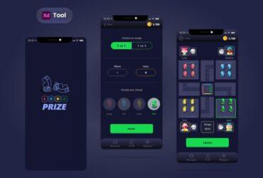 Free Ludo Game APP UI Kit Design