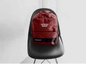Free Backpack Mockup