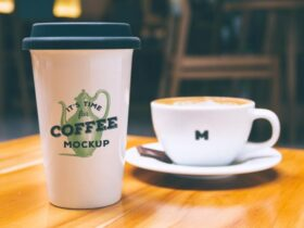 Free Coffee Mug and Cup Mockup PSD