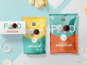 Free Creative Food Packaging Mockup PSD