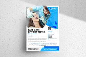 Free Dental Service PSD Flyer Template