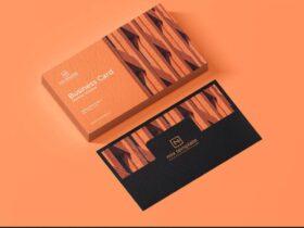 Free Elegant Business Card Mockup PSD Template