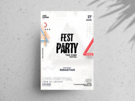 Free Festival Party Flyer Template
