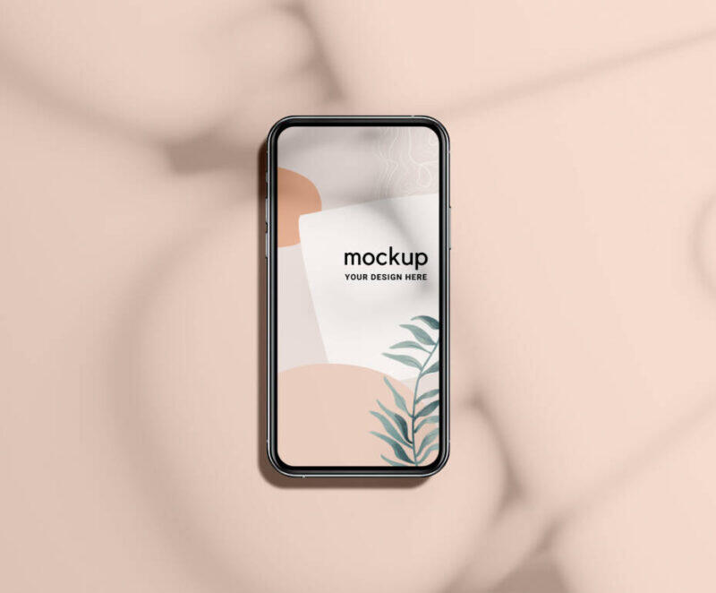 Free IPhone 12 Pro Mockup PSD