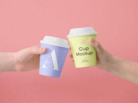Free Mini Coffee Cup Mockups