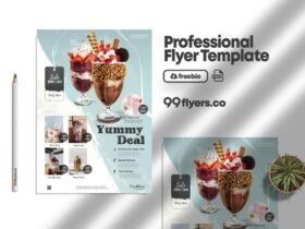 Free Product Sale & Promotion Flyer PSD Template