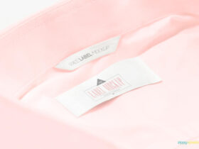 Free Simple Clothing Label Mockups