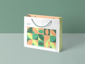Free Simple Shopping Bag Mockup