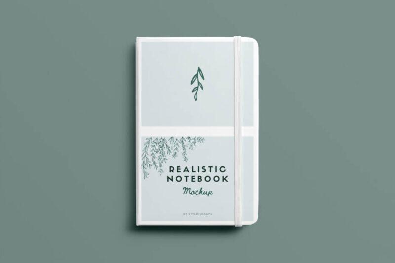 free notebook psd