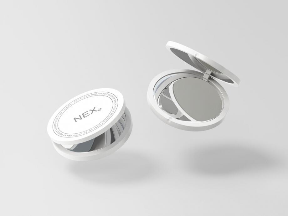 Free Compact Mirror Mockup PSD