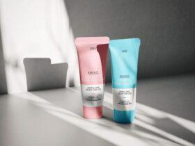 Free Cosmetic Tube Mockup PSD