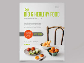 Free Food Flyer Template PSD